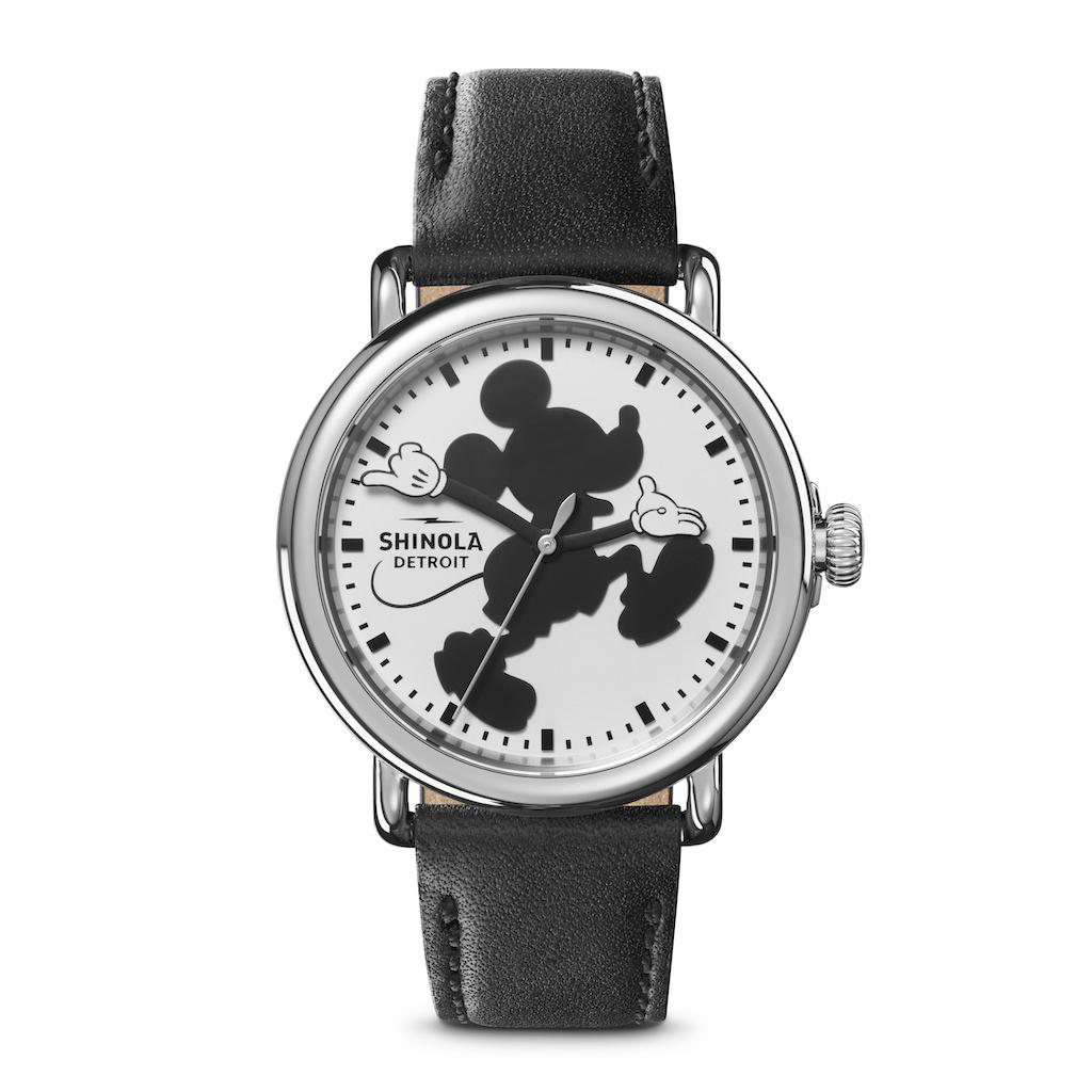 Shinola X Disney Debuts Signature Mickey Classic Collection