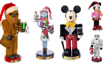 Fun Disney-Themed Nutcrackers to Add to Your Collection