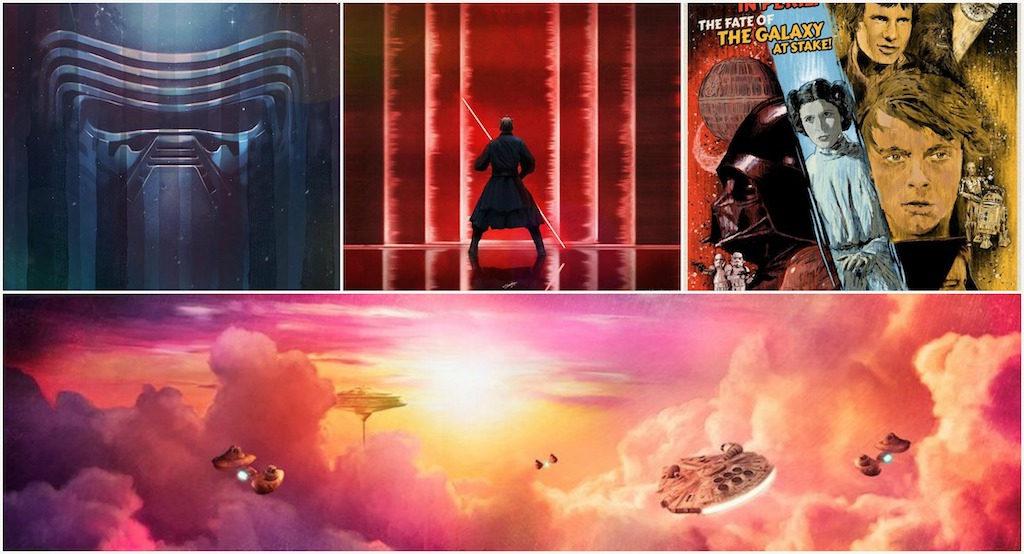 Star Wars-inspired art