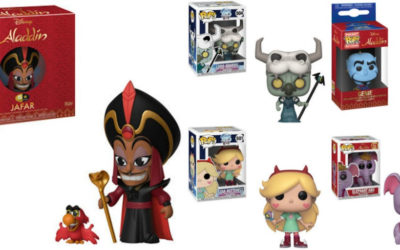 "Funko Reveals ""Aladdin"" and ""Star vs. The Forces of Evil"" POP! Figures"