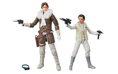 New Star Wars: The Black Series Han Solo and Princess Leia Figures from Hasbro Available for Pre-order