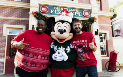 "Get in the Spirit with the New Disney-Inspired Original Holiday Song ""There's No More Festive Place To Be"""