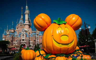 Daytime Halloween Delights at Shanghai Disneyland