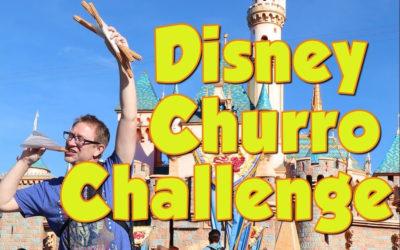 Video Pick: Space Mountain Churro Challenge