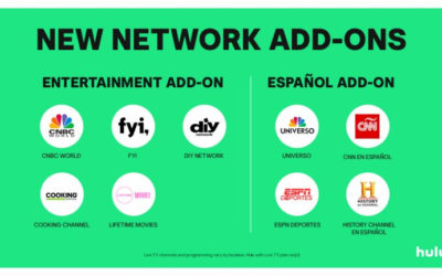 Hulu Launches Español and Entertainment Add-Ons for Hulu with Live TV Subscribers