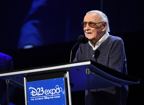 Image of Stan Lee at D23 Expo