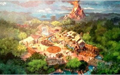 Disney Extinct Attractions: Fire Mountain and Bald Mountain