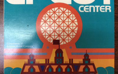 #FlashbackFriday: Take a Nostalgic Look at This 1982 Epcot Park Map