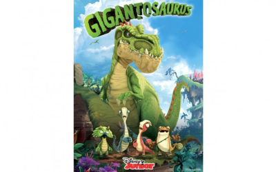 "Animated Dinosaur Series ""Gigantosaurus"" Headed to Disney Junior"