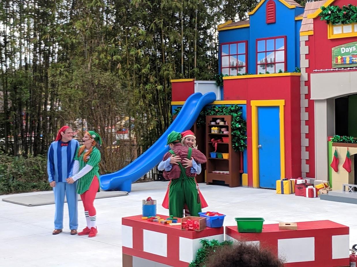 Exploring Legoland Florida's 2018 Christmas Bricktacular