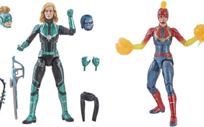 Hasbro Previews Marvel Legends Series Captain Marvel Figures