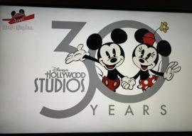 Disney's Hollywood Studios Debuts 30th Anniversary Logo