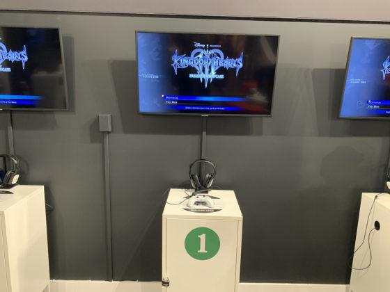 Kingdom Hearts III Pop-up