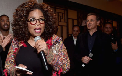 "Oprah Shares Support for Oscar Hopeful ""Black Panther"""