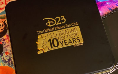 Giveaway - D23 10th Anniversary Gold Member Pin Set