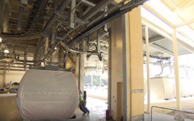 Disney Shares Video of Gondola Testing for Disney Skyliner
