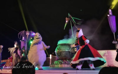 A Darker Shade of Halloween: Hong Kong Disneyland After Dark
