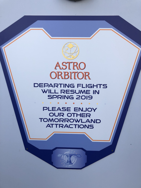 astro orbitor  sleeping beauty castle refurbishments underway
