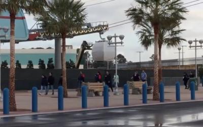 Disney Guest's Video Shows Disney Skyliner Gondola Testing