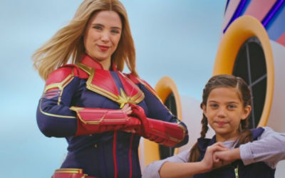 Disney Launches Captain Marvel #HigherFurtherFaster Campaign
