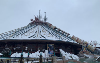 Disneyland Paris Sees Snowfall, Making the Gorgeous Park Even More Beautiful