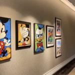 Four Seasons Resort Orlando Display Disney-Inspired Artwork During Festival of the Arts