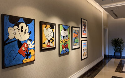 Four Seasons Resort Orlando Display Disney-Inspired Artwork During Festival of the Arts