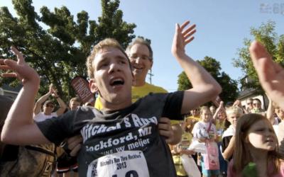 Johnny Agar Receives Disney Marathon Surprise From ESPN's Scott Van Pelt