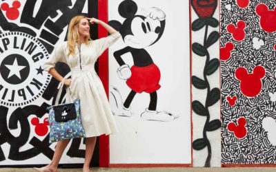 Kipling Introduces New Limited Edition 90 Years of Mickey Mouse Capsule Collection