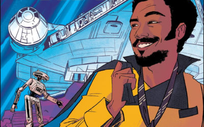 "Book Review - ""Star Wars: Flight of the Falcon - Lando's Luck"""