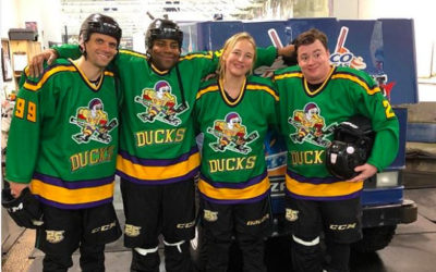 Mighty Ducks Cast Members Reunite And Step Back into the 90s
