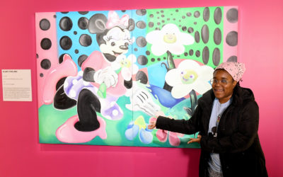 Minnie-Inspired Artwork to be Installed at Mickey: The True Original Exhibition On National Polka Dot Day