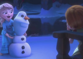 Olaf IRL: Disney Fans Take Advantage of the Chilly Temperatures to Create Frozen Fun