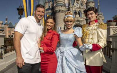 Tim Tebow and Fiancé Celebrate Engagement at Magic Kingdom