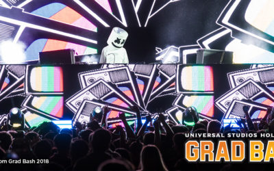 Universal Studios Hollywood Announces Entertainment Lineup for 2019 Grad Bash