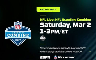 "ABC to Host ""NFL Live"" Special from the 2019 NFL Scouting Combine"