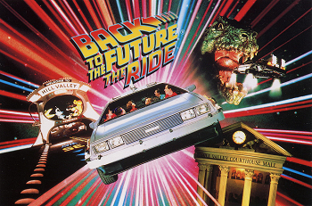Extinct Attractions: Back to the Future: The Ride