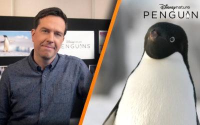 "Disney Announces Ed Helms as Narrator for Disneynature's ""Penguins"""