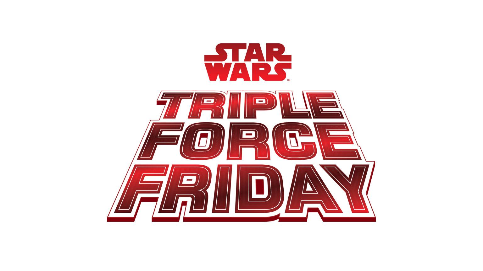 Triple Force Friday logo.