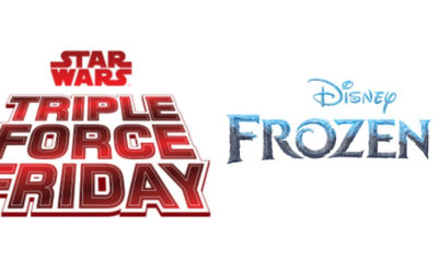 Disney Announces Triple Force Friday and Frozen Fan Fest