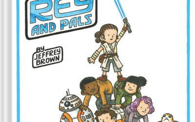 """Illustrator Jeffrey Brown Discusses the Making of New Star Wars Children's Book """"Rey and Pals"""""""