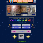 "Marvel Creates Awesomely 90s Website for ""Captain Marvel"""