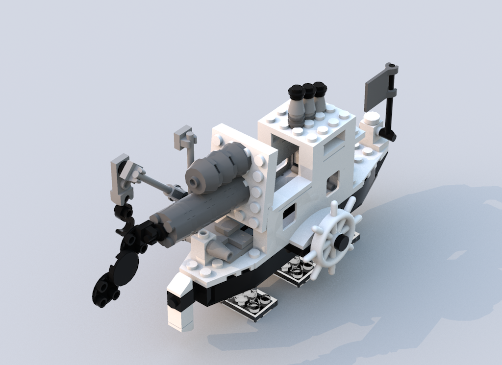 Steamboat Willie LEGO Set Selected as Winning Design for LEGO Ideas