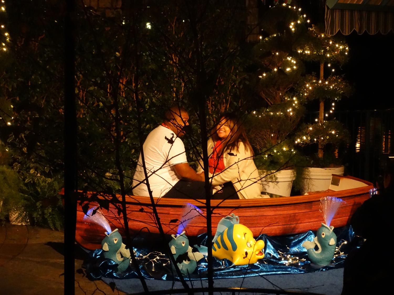 Video Disneyland After Dark Gets Romantic Ahead Of