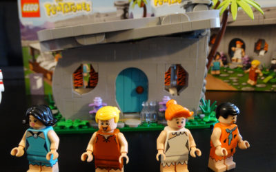 Video Review: The Flintstones LEGO Set Brings the Modern Stone-Age Family to Brick Form