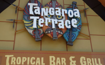 Video: Tangaroa Terrace Reopens with Outdoor Bar, New Tiki Drinks at Disneyland Resort