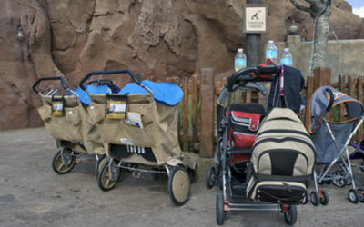 Stroller Size Limits and Stroller Wagon Ban Come to Disneyland and Disney World