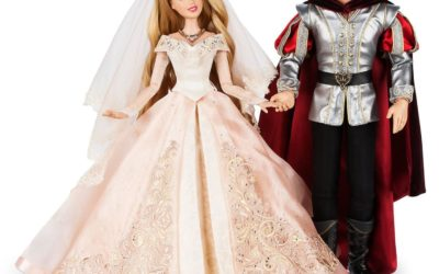 Aurora and Prince Philip Wedding Doll Set Arrives on shopDisney