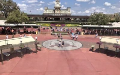 "Disney Retiring ""Disney's Walk Around the World"" Bricks Outside Magic Kingdom and TTC"