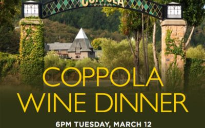 Downtown Disney's Catal Restaurant to Host Coppola Wine Dinner
